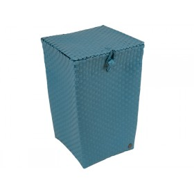 """Laundry basket """"Venice"""" in stone blue by Handed By"""