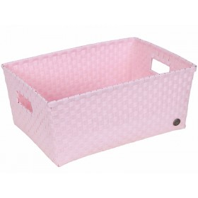 Handed By basket Verona powder pink