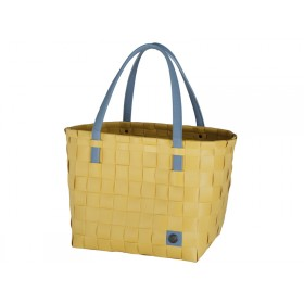 Handed By shopper Color Block mustard