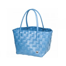 "Handed By shopper ""Paris"" in stone blue"