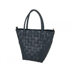 Handed By safe zip shopper dark grey