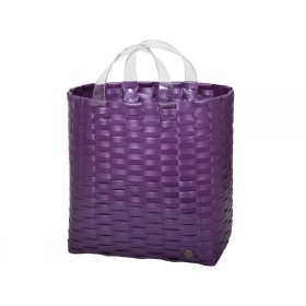 Handed By shopper Victoria metallic purple