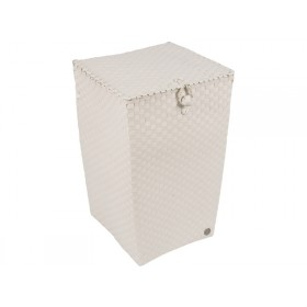 Handed By laundry basket Venice pale grey
