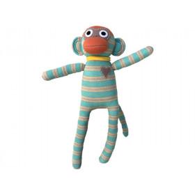 Hickups sock monkey mint green/beige