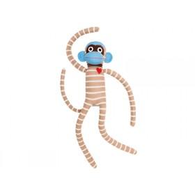 Hickups XXL sock monkey creme/brown