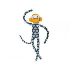 Hickups XXL sock monkey dots grey/blue