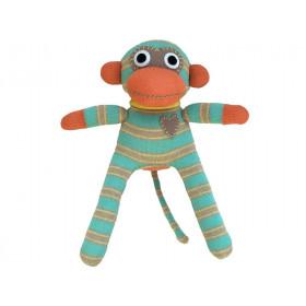 Hickups sock monkey mini mint green / beige