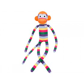 Hickups XXL sock monkey rainbow