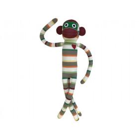 Hickups XXL sock monkey light blue / grey