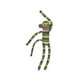 Hickups XXL sock monkey green/lime