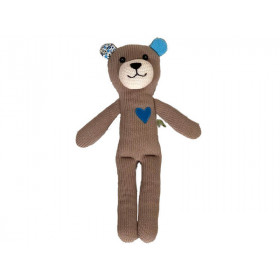 Hickups Knitted Teddy LIGHT BROWN