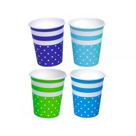JaBaDaBaDo party cups blue