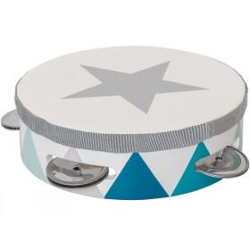 JaBaDaBaDo tambourine BLUE