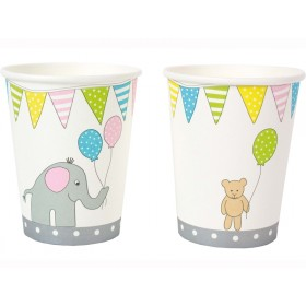 JaBaDaBaDo party cups ANIMALS