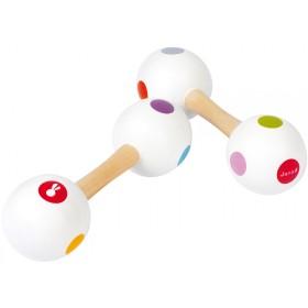 Janod rattle maraca confetti