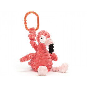 Jellycat Wriggle Toy FLAMINGO