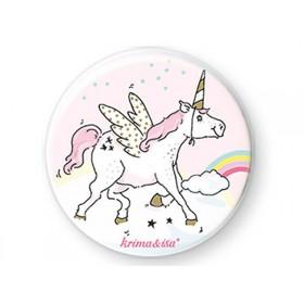 krima & isa: Button - Unicorn