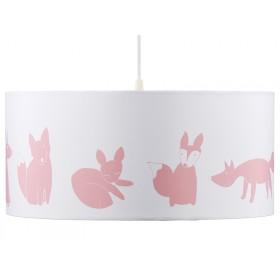 Kids Concept hanging lamp Edvin pink