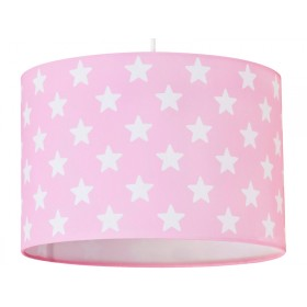 Kids Concept hanging lamp stars pink