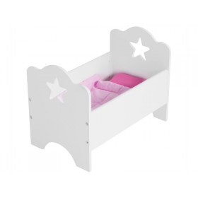 Kids Concept doll's bed white