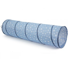 Kids Concept playtunnel STARS blue
