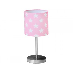 Kids Concept table lamp stars pink