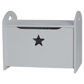 Kids Concept seat box grey