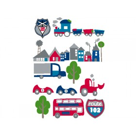 Kids Concept wall sticker cars