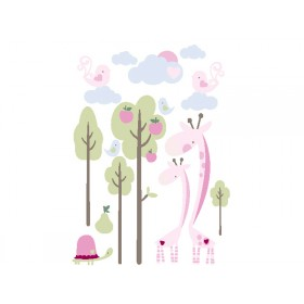 Kids Concept wall sticker giraffe