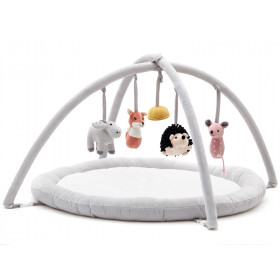 Kids Concept Babygym EDVIN white and grey