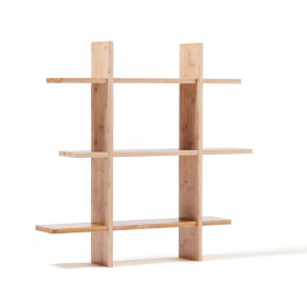 Kids Concept Hanging Shelf natural wood