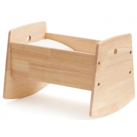 Kids Concept Doll Cradle natural wood