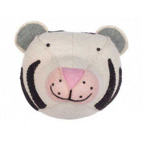 KidsDepot Felt Animal Head WHITE TIGER