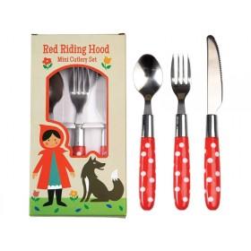 Rexinter children's cutlery Red Riding Hood