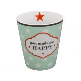 Krasilnikoff Happy Mug You make me happy