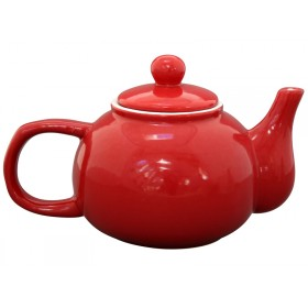 Krasilnikoff teapot brightest star red