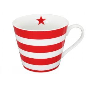 Krasilnikoff Happy Cup Stripes red