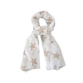 Krasilnikoff scarf mega stars sand