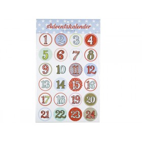 Advent calendar sticker by krima & isa