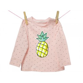 Iron-on patch pineapple by krima & isa
