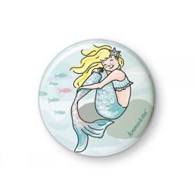 krima & isa button Mermaid