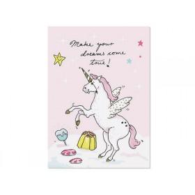 "krima & isa postcard Unicorn ""Dreams"""