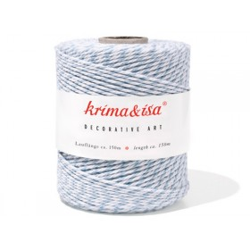 krima & isa yarn light blue