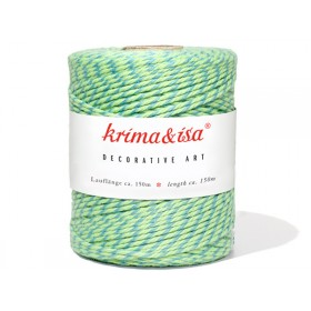 krima & isa yarn lollipop green