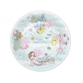 krima & isa paper plates Mermaid
