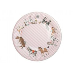 krima & isa paper plates pony