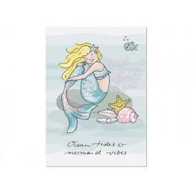krima & isa postcard Ocean Tides & Mermaid Vibes