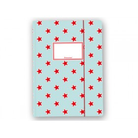 krima & isa folder map in turquoise with red stars