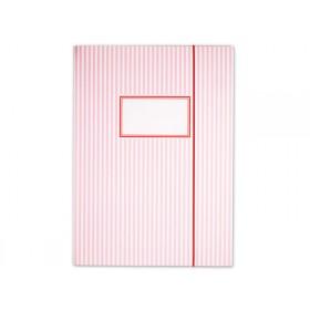 krima & isa folder map stripes pink