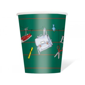 krima & isa paper cups Schulkind